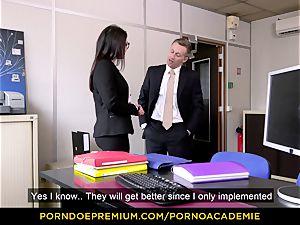 pornography ACADEMIE - teacher Valentina Nappi MMF three-way
